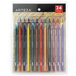 ARTEZA 24 Woodless Colored Pencils Set